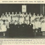 First Holy Communion 1962