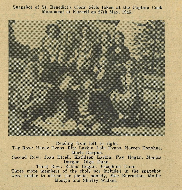 choir picnic